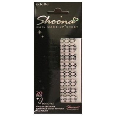 Shoona nail make up sheet SN102 (1シート(20枚)入り)