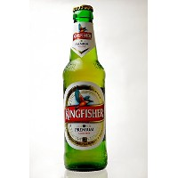 KINGFISHER BEER(キングフィッシャー) ビール 330ml瓶×4本セット