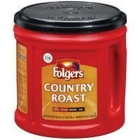 Folgers Country Roast Mild Ground Coffee, 34.5 oz by Folgers [並行輸入品]
