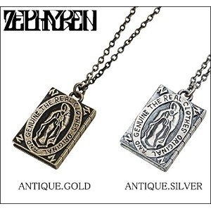 (ゼファレン)ZEPHYREN METAL NECKLACE -Guadalupe- ネックレス FREE ANTIQUE.GOLD