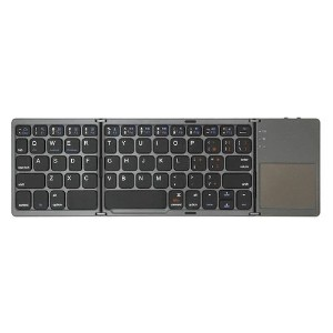 グラントン タブレット用Bluetoothキーボード Tri-folding Bluetooth Keyboard with Track Pad ブラック GK940-BK