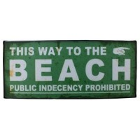 HOUSE USE PRODUCTS SIGN LIGHT [ BEACH ] サインライト