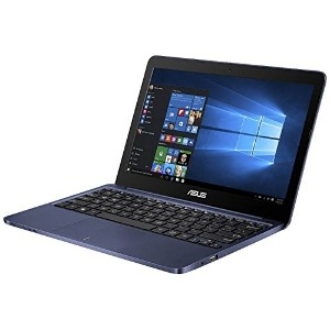 ASUS 11.6型ノートPC[Win10 Home・Atom・eMMC 128GB・メモリ 4GB] ASUS VivoBook E200HA ダークブルー E200HA-FD0083TS ...