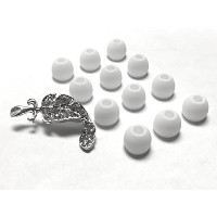 BSI 12pcs Small White Replacement Ear Gels Eartips for Monster Beats Dr. Dre Tour Powerbeats...