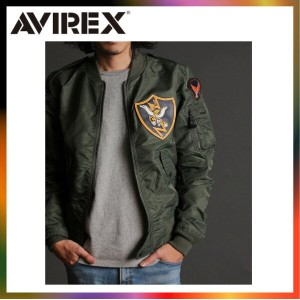 AVIREX アビレックス L-2 PATCHED FLYING TIGERS 6162163 ジャケット MA1 MA-1 フライトジャケット 日本正規品