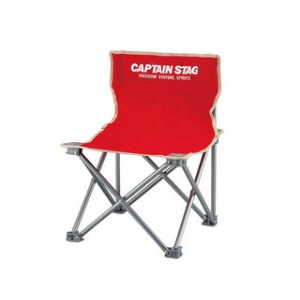 CAPTAIN STAG/キャプテンスタッグ M3919 パレット コンパクトチェア 【ミニ】 (レッド)