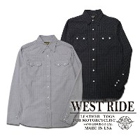 【WESTRIDE ウエストライド】シャツ/16SS WR3002★送料・代引き手数料無料!REAL DEAL