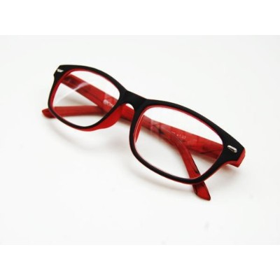 老眼鏡 【WA037BRD】READING GLASSES BK/RD 2.0