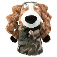 MU Sports Ladies Driver Cover Dog Plush【ゴルフ レディース>ヘッドカバー】