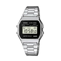 Casio Men's Collection Watch A158WEA-1EF【並行輸入】