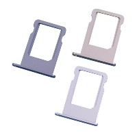 【SIMカードトレイ】【nano SIM Card Slot Tray Holder】 for iPhone 5s (シルバー)