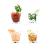 KIKKERLAND Bartending Glasses set of 4 バーテンディンググラス GL11
