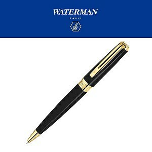 【WATERMAN】ウォーターマン EXCEPTION エクセプション スリム ボールペン 油性 ブラックラッカーGT S2223352 WM-EXPS-BP-BKGT (ギフト/プレゼント...