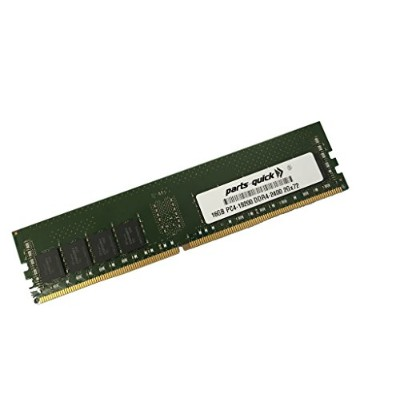 16GB Memory for Quanta QuantaGrid D51PS-1U DDR4 PC4-2400 レジスター DIMM (PARTS-クイック BRAND) (海外取寄せ品)