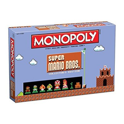 モノポリー マリオ USAopoly Monopoly: Super Mario Bros Collector's Edition Board Game 新品