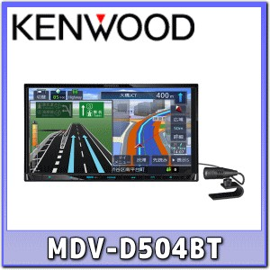★KENWOOD・MDV-D504BT★地デジ/Bluetooth/DVD/USB/SD/