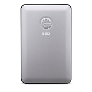 G-Technology 500GB G-DRIVE slim SSD USB-Cポータブルドライブ バスパワー駆動 Thunderbolt 3 Mac OS X /Windows10,8.1,7