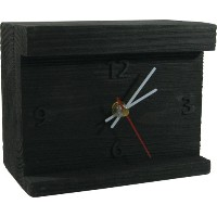 HOUSE USE PRODUCTS(ハウスユーズプロダクツ) 置時計 LIGHT-UP DESK CLOCK Norman BLACK HFT158 [正規代理店品]