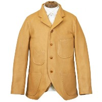 FREEWHEELERS フリーホイーラーズ DARIUS LATE 1800s TAILORED SACK COAT GREAT LAKES GMT.MFG.CO. YELLOW OCHRE...