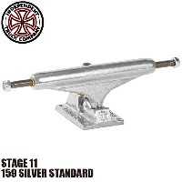 【INDEPENDENT】159 SILVER STANDARD STAGE 11 SKATEBOARD TRUCK(インディペンデント スケートボード トラック スタンダード)/