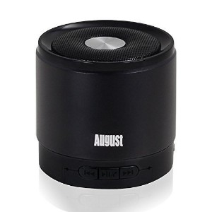 August Bluetooth wireless ワイヤレス無線スピーカー MS425 (black)