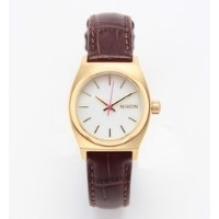 NIXON / THE SMALL TIME TELLER SPECIAL (BROWN)【ビームス ウィメン/BEAMS WOMEN レディス 腕時計 GOLD/PINK ルミネ LUMINE】