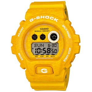 ■CASIO カシオ G-SHOCK【Heathered Color Series[ヘザード・カラー・シリーズ]】イエロー GD-X6900HT-9JF【楽ギフ_包装選択】.