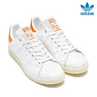 adidas Originals STAN SMITH (アディダス オリジナルス スタンスミス) RUNNING WHITE/RUNNING WHITE/TACTILE ORANGE【メンズ...
