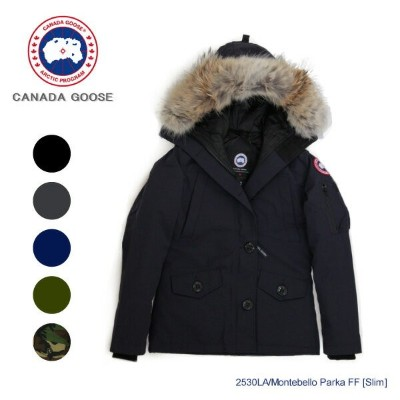 【送料無料】【並行輸入品】『CANADA GOOSE-カナダグース』Montebello Parka FF Slim Fit [2530LA][モンテベロパーカー スリムフィット レディース...