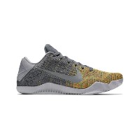 "バスケットシューズ バッシュ ナイキ Nike Kobe XI Elite Low ""Master of Innovation"" C.Gry/V.Grn/Y.Strike"