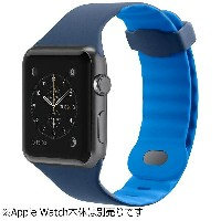 BELKIN Apple Watch 38mm用スポーツバンド 「Sports Band for Apple Watch」 F8W729BTC02 マリーナブルー[F8W729BTC02]