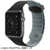 BELKIN Apple Watch 42mm用スポーツバンド 「Sports Band for Apple Watch」 F8W730BTC00 ブラック[F8W730BTC00]