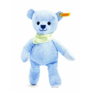 Steiff 238109 シュタイフ ぬいぐるみ テディベア 28cm Little Circus Teddy Bear for Newborn (Light Blue)