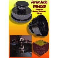 Purest Audio ピュアレストオーディオ SOLID BRASS Chrome Finish Turntable Record Player Stabilizer Clamp...