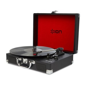 ION Audio Vinyl Motion Portable Suitcase Turntable # IA-TTS-018 アイオンオーディオ (Apple製品関連アクセサリ) [PSR]