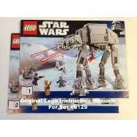 "Instruction Manuals for ""Lego (レゴ) Star Wars (スターウォーズ) 8129 - AT-AT Walker"" ブロック おも"