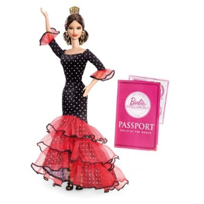 Barbie バービー Collector Dolls of The World-Spain Doll 人形 ドール