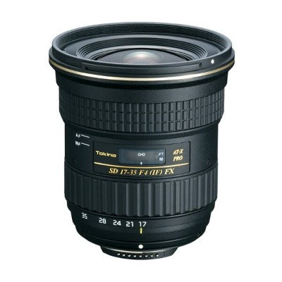 Tokinaトキナー ズームレンズ AT-X 17-35 F4 PRO FX 17-35mm F4 (IF) ASPHERICAL Nikon(ニコン)用 【キャッシュバックキャンペーン5...