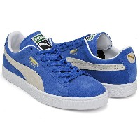 PUMA SUEDE CLASSIC +【プーマ スウェード クラシック プラス】OLYMPIAN BLUE - WHITE
