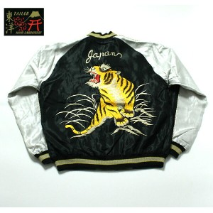 "No.TT13754 TAILOR TOYO テーラートーヨーACETATE SUKA""ROALING TIGER&JAPAN MAP"""