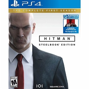 Hitman The Complete First Season Steelbook Edition PlayStation 4 ヒットマン 完全初シーズンスチールブック版プレイステーション4...