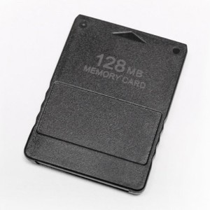 Skque 128MB Game Save Memory Card for Sony PlayStation 2 PS2,Black by eTree [並行輸入品]