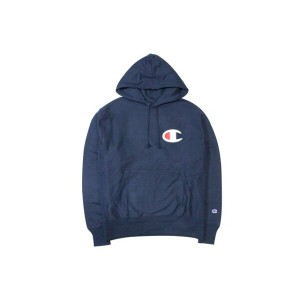CHAMPION LIFE REVERSE WEAVE GRAPHIC P/O HOODIE (NAVY)チャンピオン/プルオーバーパーカー/紺