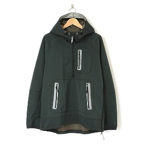 【SALE(伊勢丹)】 アンドワンダー/and wander  【S】wind stop jacket(AW63-JT001) 24・グレー 【三越・伊勢丹/公式】 メンズウエア~~その他トップス