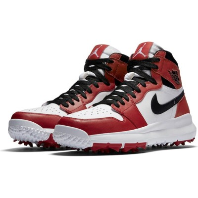 Air Jordan 1 Retro high Golf メンズ WHITE/VARSITY RED/BLACK ジョーダン ゴルフシューズ NIKE GOLF SHOES