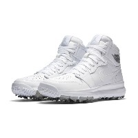 Air Jordan 1 Retro high Golf メンズ WHITE/METALLIC SILVER/WHITE ジョーダン ゴルフシューズ NIKE GOLF SHOES
