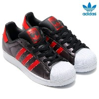 adidas Originals SUPERSTAR (アディダス オリジナルス スーパースター) Core Black/Collegiate Red/Collegiate Red【レディース...
