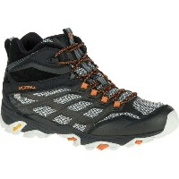 メレル Merrell メンズ 登山 シューズ・靴【Moab FST Mid Waterproof Hiking Boot】Black