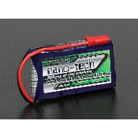 Turnigy nano-tech 3.7V 350mAh 65C130C リポ