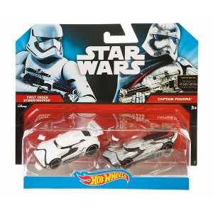 Hot Wheels Star Wars: The Force Awakens Stormtrooper vs. Captain Phasma  スターウォーズ・starwars・ダイキャスト...